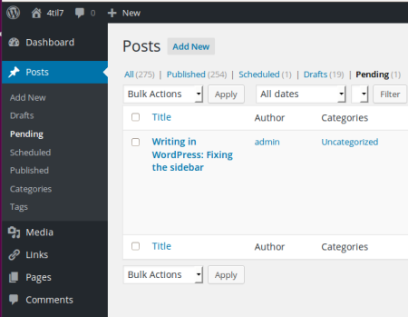 WordPress Menu Editor Plugin Results